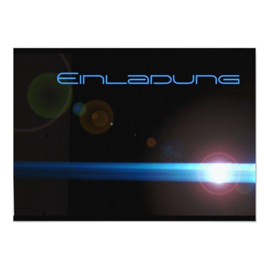 LED Linseneffekt 12,7 X 17,8 Cm Einladungskarte