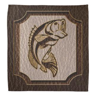 Leder-Blick Fisch-Dunkelheit Kopftuch