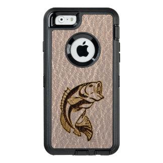 Leder-Blick Fische weich OtterBox iPhone 6/6s Hülle