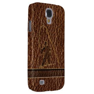 Leder-Blick Fischer Galaxy S4 Hülle