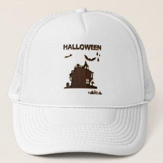 Leder-Blick Halloween 1 Truckerkappe