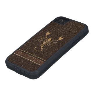 Leder-Blick Skorpion Etui Fürs iPhone 5