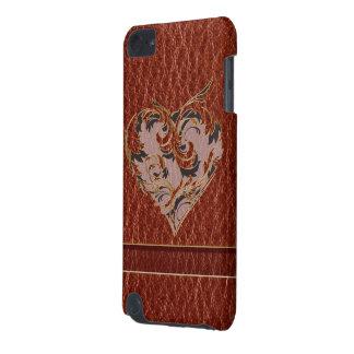 Leder-Blick Valentinsgruß weich iPod Touch 5G Hülle