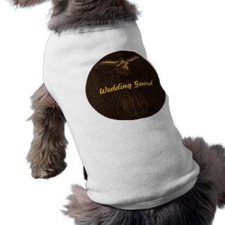 Leder-Blick Wedding Dunkelheit Shirt