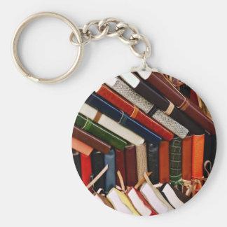 Leder-Gehende Zeitschriften Schlüsselanhänger