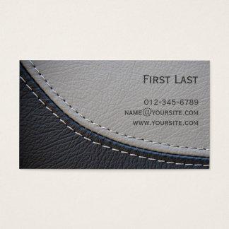 Leder Visitenkarte