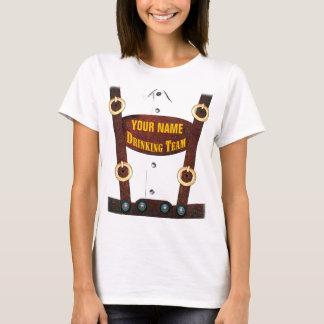 Lederhosen, die Team-T - Shirt trinken