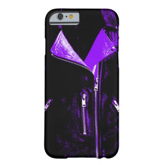 Lederne Jacke lila iPhone 6 Kasten Barely There iPhone 6 Hülle