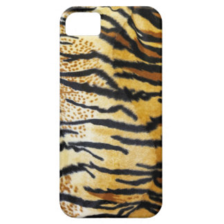 lederne wilde Tiere des Tigers für wilde Frau Barely There iPhone 5 Hülle
