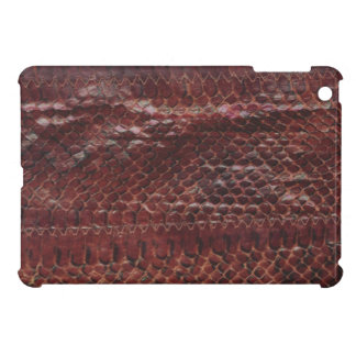 Ledernes Schlangen-Druck iPad Minifall iPad Mini Hüllen