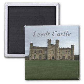 Leeds Castle Quadratischer Magnet