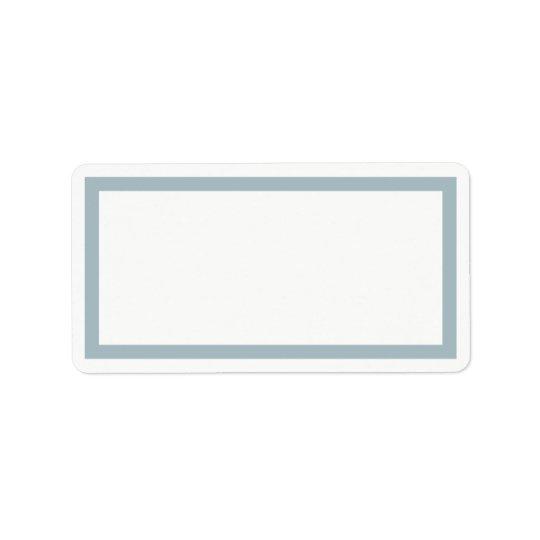 Leeradresseaufkleber des Rahmens des Adressaufkleber