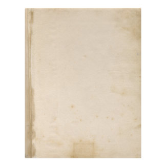 Leere Grungy Antike beflecktes Papier