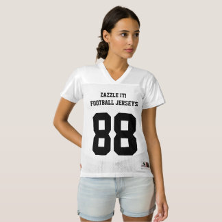 Leere Schablone kundenspezifischer Frauen Football Trikot