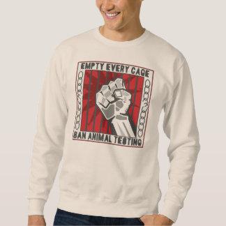 Leeren Sie jeden Käfig Sweatshirt