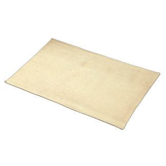 Leerer Grungy befleckter Pergament-Hintergrund Tischset
