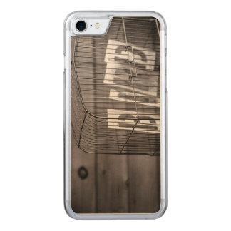 Leerer Vogelkäfig Carved iPhone 8/7 Hülle