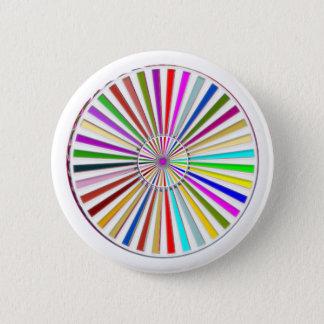 Leeres DIY Schablonen-Party-Werbegeschenk addieren Runder Button 5,1 Cm