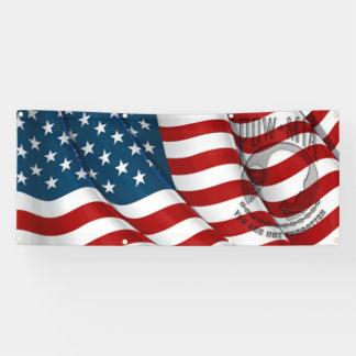 leeres POW/MIA und Flagge Banner