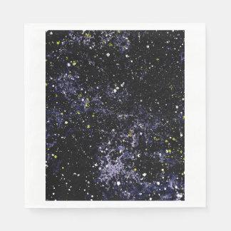 LEERES RAUM (outerspace Entwurf) ~ Serviette