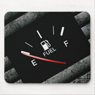 Leeres schwarzes Brenngas-Messgerät Mauspads