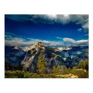 Leeres Yosemite-Tal in Yosemite Nationalpark Postkarte