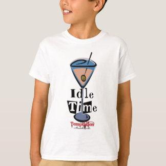 Leerlaufzeit Martini T-Shirt