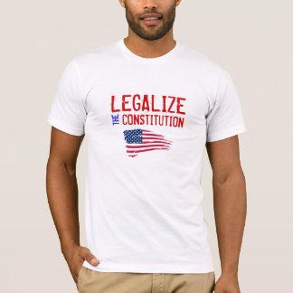 Legalisieren Sie den Konstitutions-T - Shirt