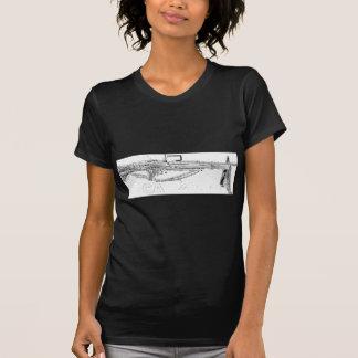 Legalisieren Sie es: Maschinengewehr T-Shirt