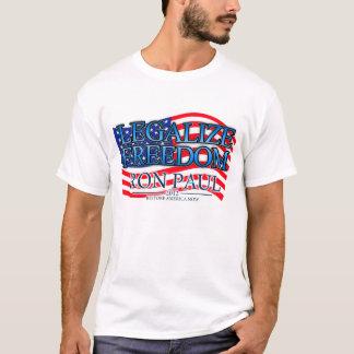 LEGALISIEREN SIE FREIHEIT T-Shirt