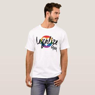 LEGALISIEREN SIE HOMOSEXUELLES T-Shirt