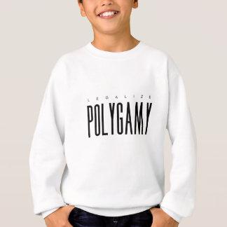 Legalisieren Sie Polygamie Sweatshirt