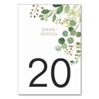 Legen botanisches rustikales Traumgrün #2 Karten