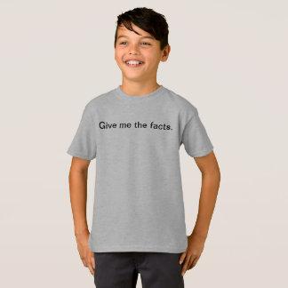 Legen Sie mir den Sachverhalt lustige Kinder T-Shirt