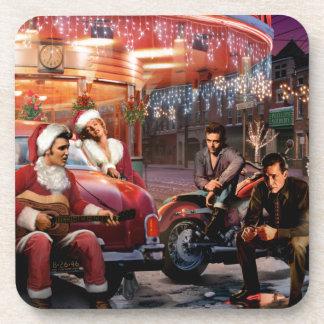 Legendäres Weihnachten Getränke Untersetzer