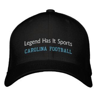 Legende hat es zur Schau trägt Bestickte Kappe