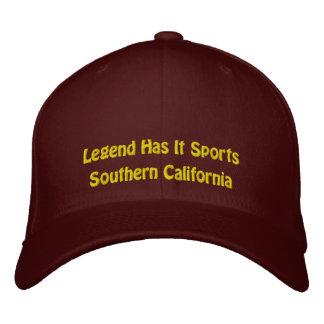 Legende hat es zur Schau trägt/Südkalifornien Bestickte Kappe