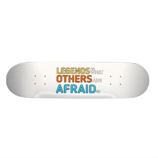 Legenden + FarbSkate Personalisierte Skateboards