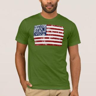 Legenden-Matt-Flagge-T-Stück T-Shirt