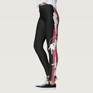 Legging Pole-Fitness-Silhouette: LPF Leggings