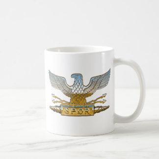 Legions-Eagle-Chrom Kaffeetasse