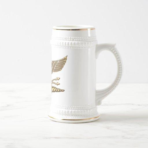 Legions-Eagle-Gold Kaffee Haferl