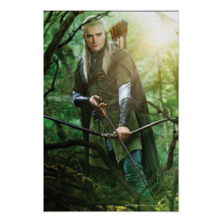 LEGOLAS GREENLEAF™ mit Bogen Poster