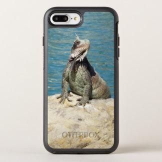 Leguan-tropische wild lebende Tiere OtterBox Symmetry iPhone 8 Plus/7 Plus Hülle