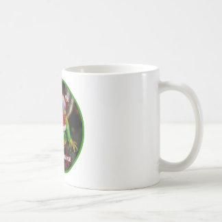 Leguan-Wunsch Sie eine frohe Weihnacht-Schale Kaffeetasse