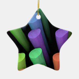 Lehm-Stöcke - Keramik Ornament