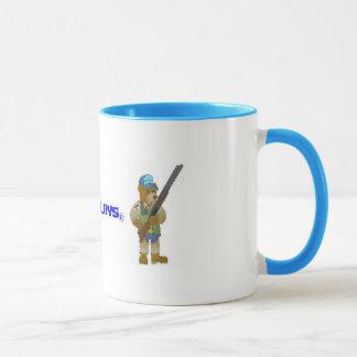 Lehm- u. Bärn-Tasse der Zerstampfungs-n Tasse