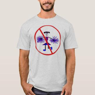 Lehnen Sie Cheerleadern ab T-Shirt