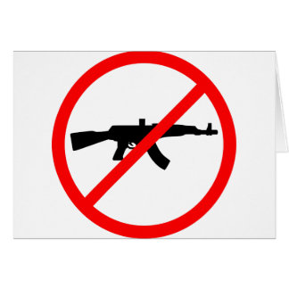 Lehnen Sie Gewehre ab Karte