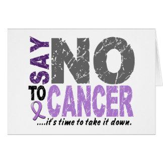 Lehnen Sie Krebs 1 ab Karte